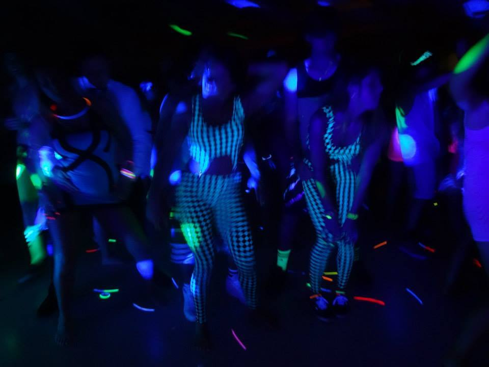 Dresses For A Black Light Party